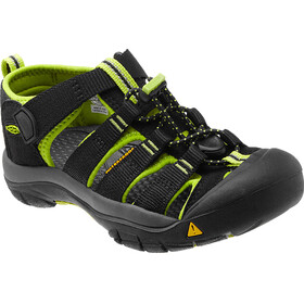 Keen Newport H2 Sandals Youth Black/Lime Green